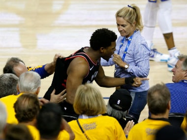 NBA Finals 2019: Warriors part-owner Mark Stevens receives one-year ban, fined 0,000 for shoving Raptors Kyle Lowry
