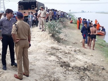 22 rescued after pick-up van ferrying wedding party falls in canal near Lucknow; three kids bodies fished out, four still missing