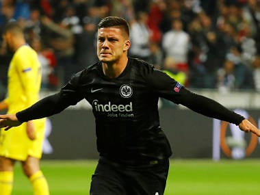 La Liga: Real Madrid sign Serbia striker Luka Jovic on six-year deal from Eintracht Frankfurt