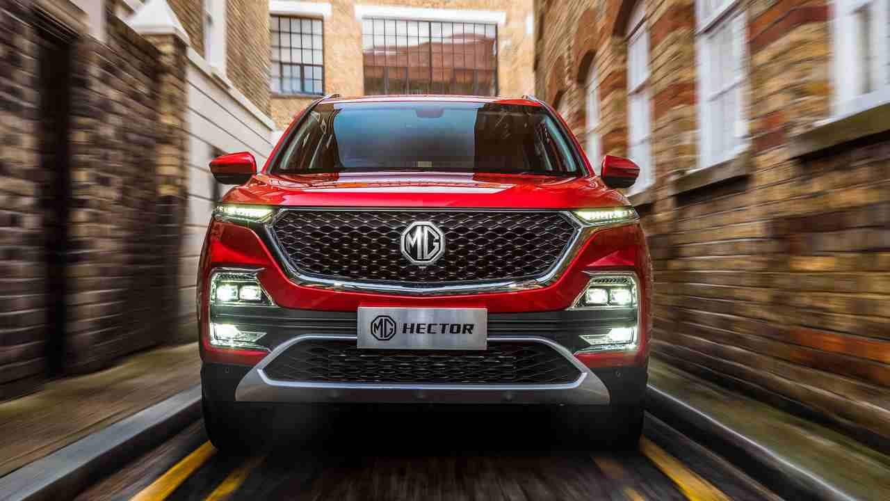 MG SUV Hector hit the benchmark of 50,000 unit bookings in eight months in India