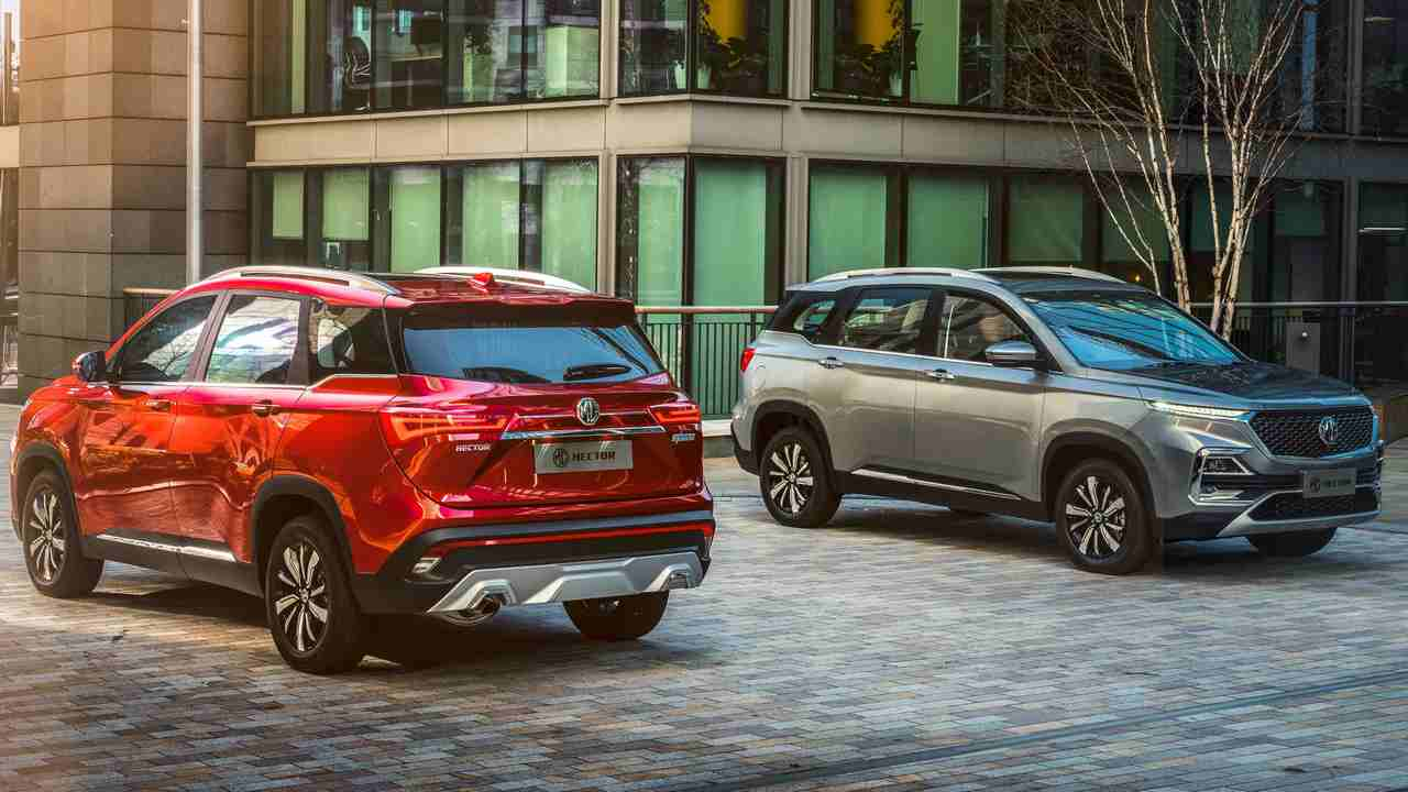 MG Hector SUV launched in India starting at Rs 12.18 lakhs ex-showroom