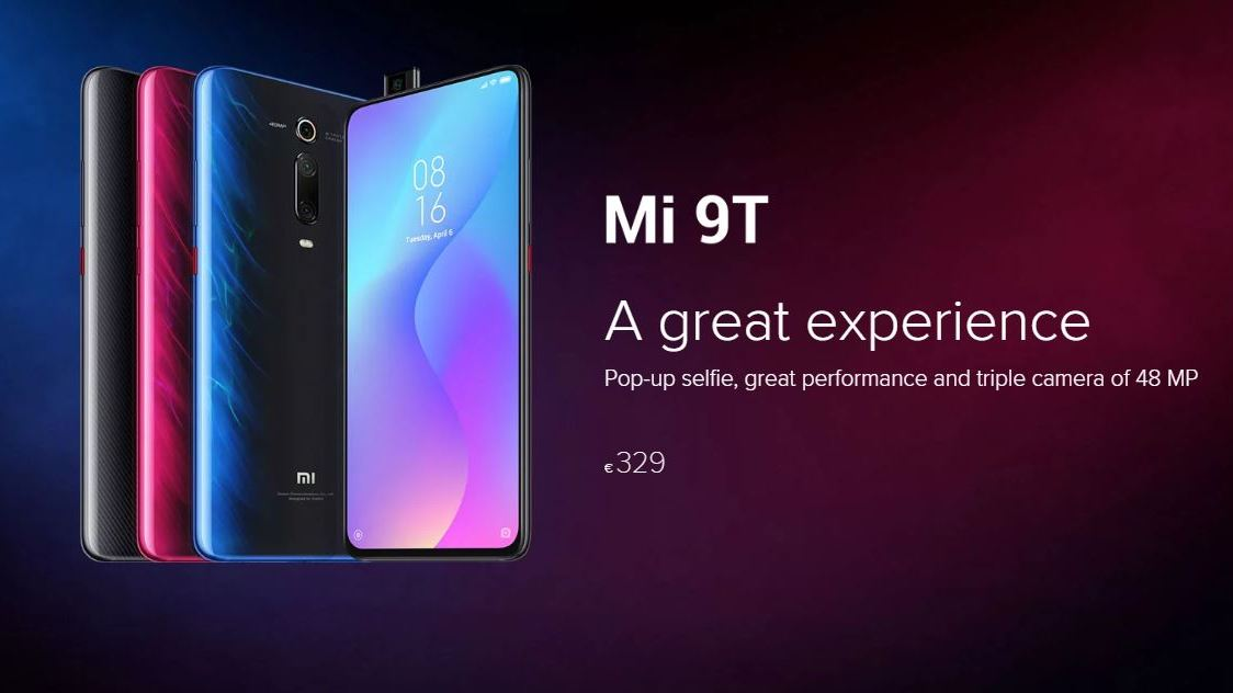 Xiaomi announces the Mi 9T and Smart Band 4 in Europe starting at €329