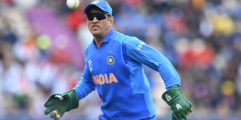 MS Dhoni's gloves which sported the Army insignia led to a major controversy. AFP