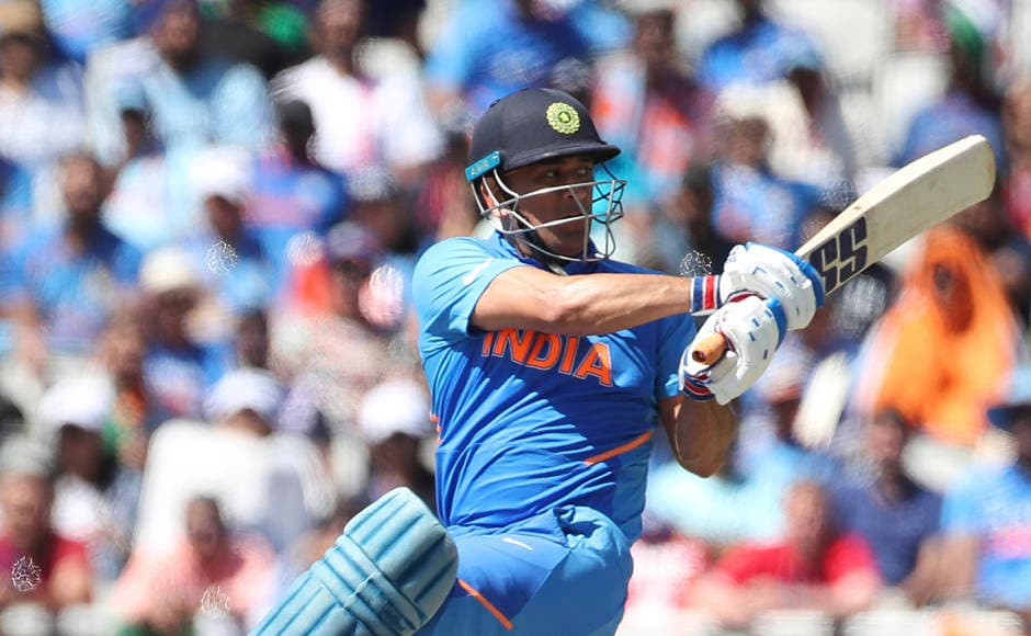 After losing Virat Kohli in the 39th over, MS Dhoni took India back to the game with an unbeaten knock of 56 to guide the Men in Blue to 268-7. AP