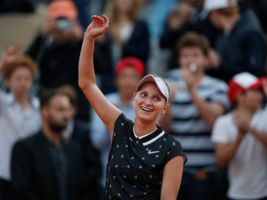 French Open 2019: 19-year-old Marketa Vondrousova beats 31st seed Petra Martic to reach first Grand Slam semi-final