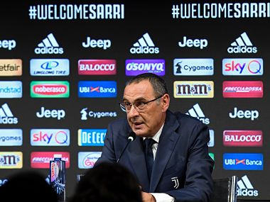 Serie A: New Juventus manager Maurizio Sarri says Turin job is 'crowning moment' of 30-year managerial career