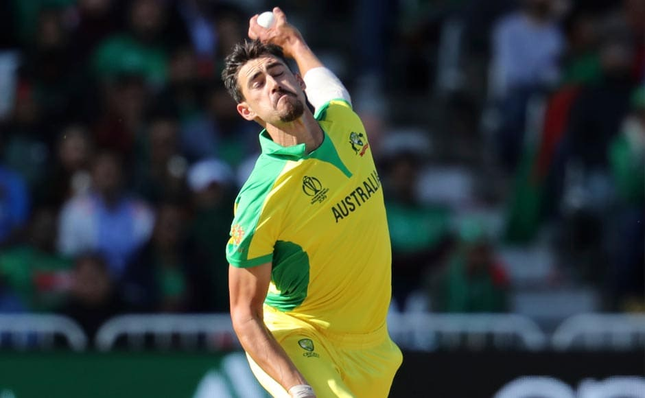 Mitchell Starc got the bowling underway for Australia. After Sarkar's early dismissal and Shakib Al Hasan's wicket, Starc did well to remove danger man Tamim Iqbal. AP