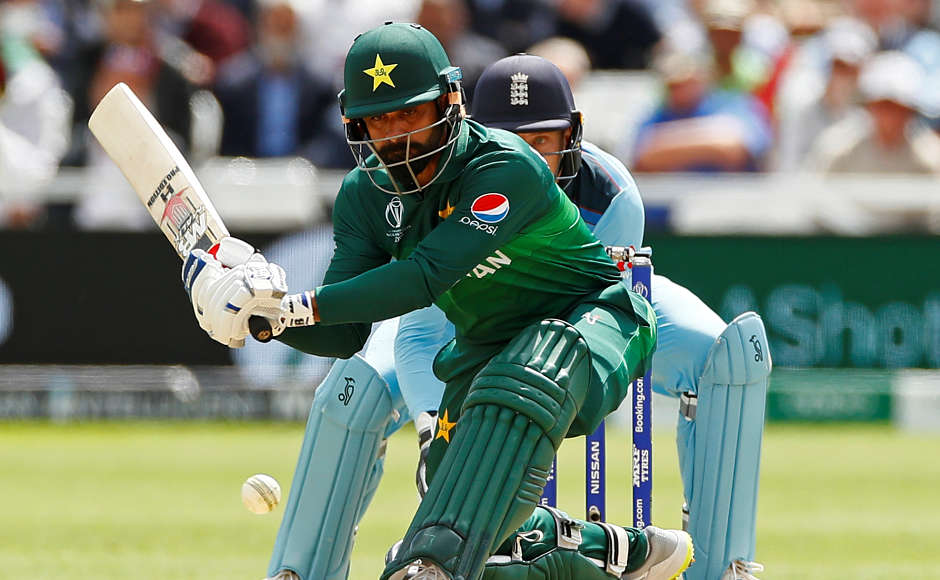 Mohammad Hafeez went onto score 84 runs, including an 80-run partnership with captain Sarfaraz Ahmed, putting Pakistan in command. Reuters