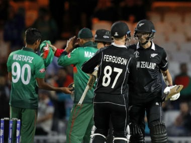 Bangladesh vs New Zealand, ICC Cricket World Cup 2019: Black Caps recover from batting collapse to post thrilling win at The Oval