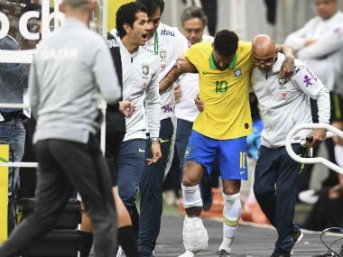 Brazil star Neymar out of Copa America 2019 after tearing right ankle ligament in friendly win over Qatar