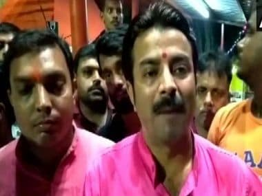 BJP youth wing workers warn Mamata-led Bengal govt theyll chant Hanuman Chalisa on Tuesdays to oppose road blockage during Friday namaz