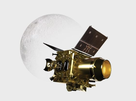Chandrayaan 2 orbiter. Image: ISRO
