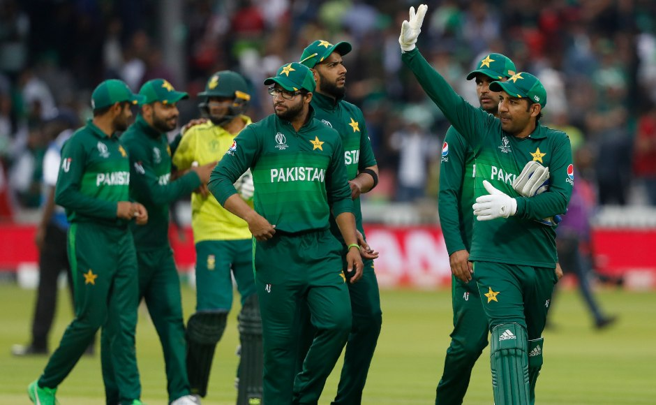 Pakistan keep their hopes of securing a spot in the semi-finals alive with a 49-run victory over South Africa. While for the Proteas with just one win from seven games they are out of the contention for qualifying in the knockouts. AP
