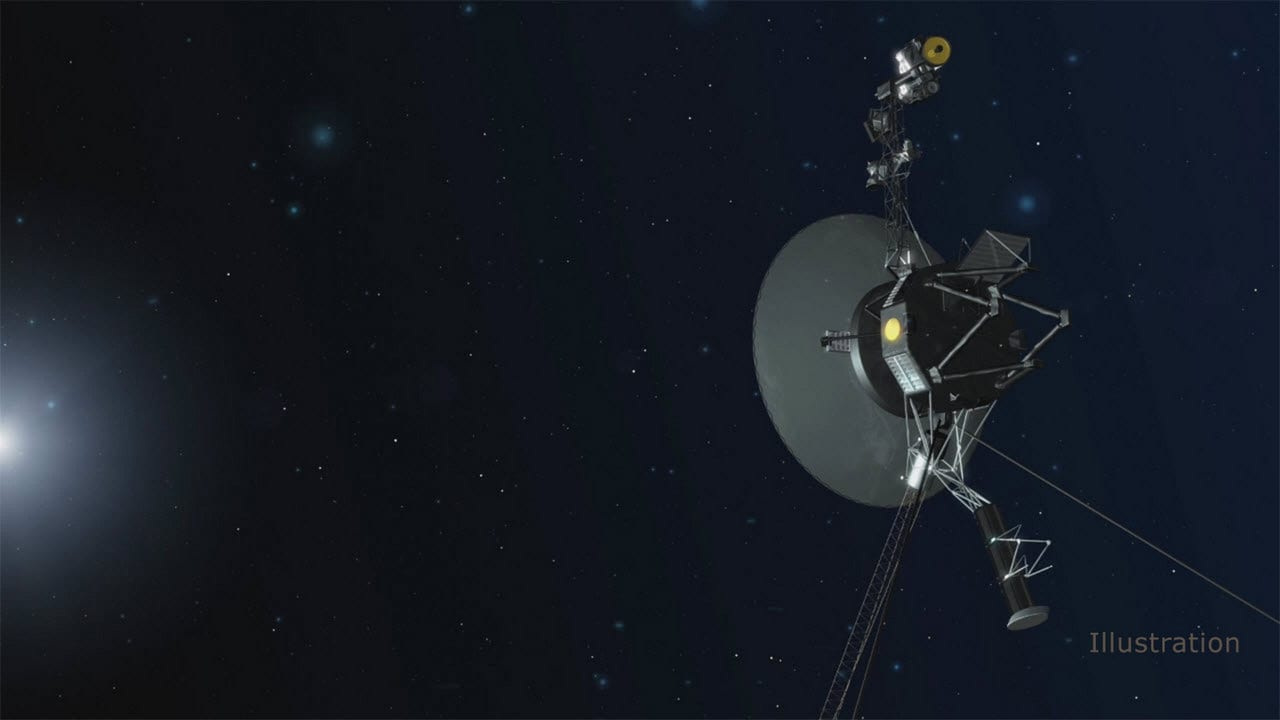Artist illustration of Voyager 1. Image credit: NASA/JPL