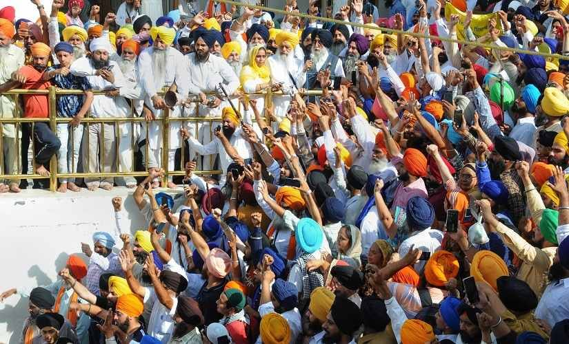 Former MP and president of the political party Shiromani Akali Dal (Amritsar) Simranjit Singh Mann along with a 'parallel Jathedar' of the Akal Takht, Dhian Singh Mand, was also present at the Akal Takht. Radical outfit Damdami Taksal's chief Harnam Singh Dhuma, Jathedar Giani Harpreet Singh and SGPC top officials honoured the families who lost their kin during the operation. A partial <em>bandh</em> was observed in the city on a call given by the radical Sikh outfit Dal Khalsa. PTI