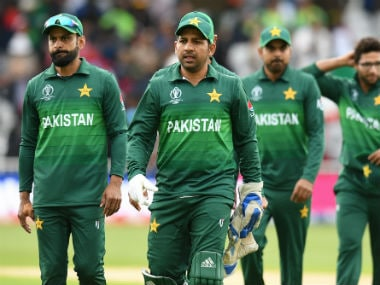 ICC Cricket World Cup 2019: Pakistan's Mohammad Hafeez says 'hurting' teammatez determined to fight for semi-final spot