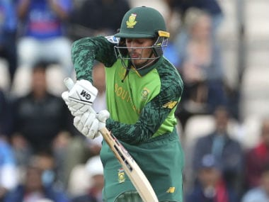 New Zealand vs South Africa, ICC Cricket World Cup 2019: Quinton de Kock says Proteas' clash against Kiwis is a 'quarter-final'