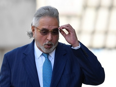 Vijay Mallya watches India vs Australia Cricket World Cup match at The Oval in London