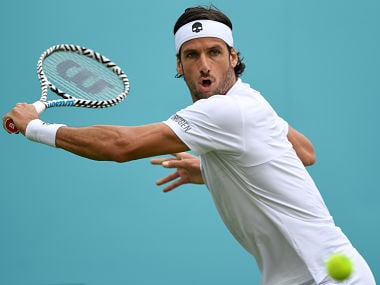 Spanish tennis player Feliciano Lopez denies match-fixing allegations during Wimbledon 2017