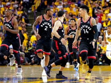 NBA Finals 2019: Rampant Raptors move halfway to first-ever title with victory over injury-hit Warriors in Game 3