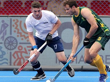 FIH Series Finals 2019: Nicholas Spooner nets late winner as South Africa beat USA to reach summit clash