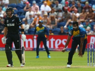 Sri Lanka don't have a genuine pace option to rattle batsmen. AFP