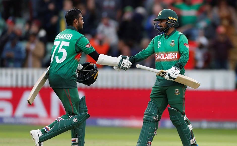 Shakib Al Hasan, Liton Das headline Bangladesh's record chase against West Indies in Cricket World Cup