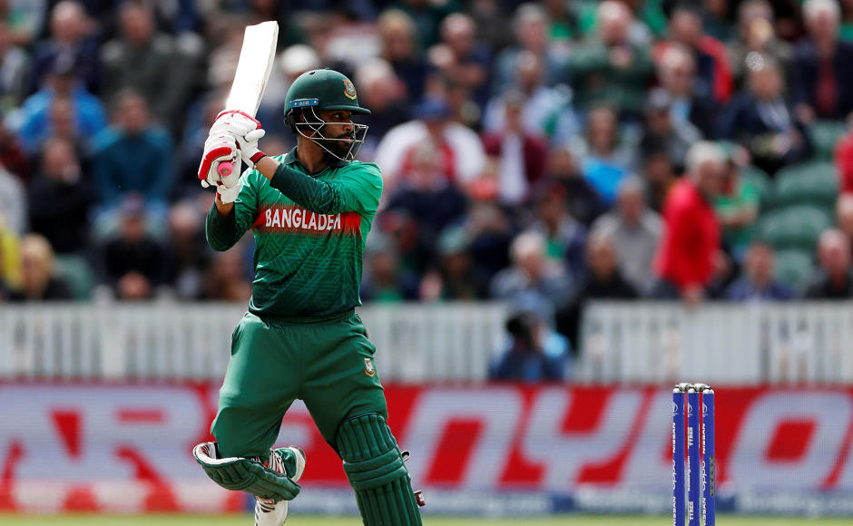Tamim Iqbal missed out on a half-century after being dismissed for 48 runs. However, he still went onto build 50-plus partnerships each with Soumya Sarkar and Shakib Al Hasan. Reuters