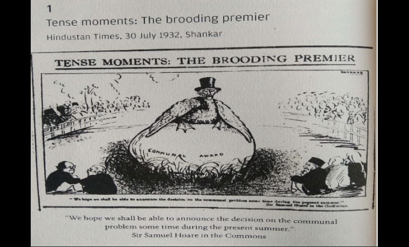 'Tense Moments: The Brooding Premier' by Shankar, Hindustan Times, 30 July, 1932