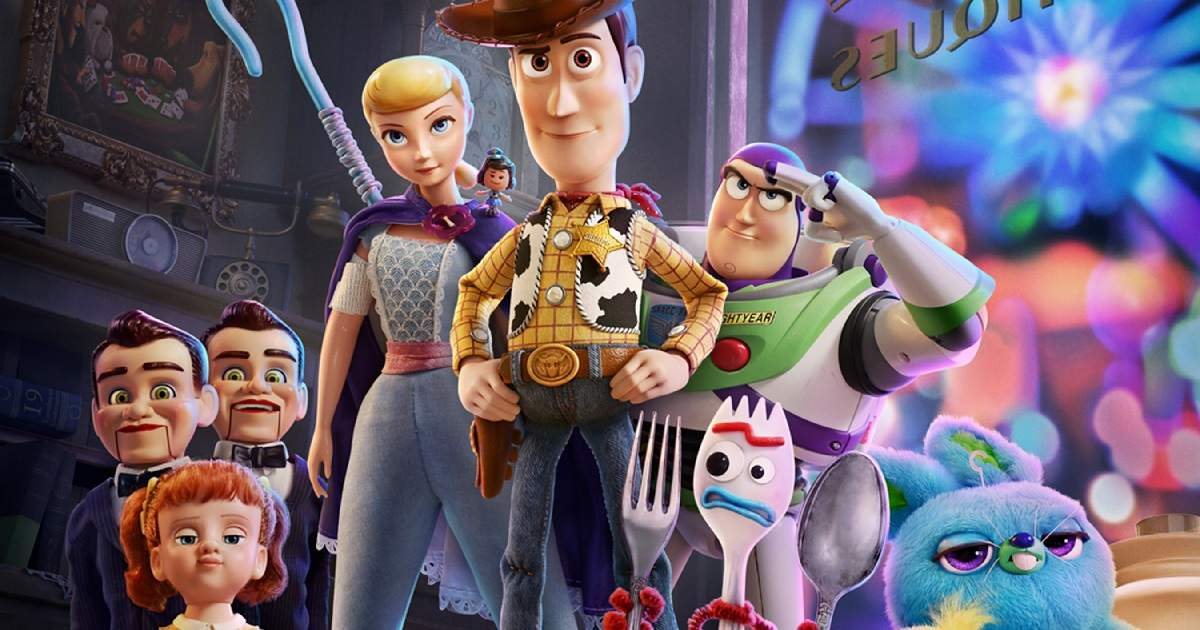 Toy Story 4 becomes fifth Disney film to cross <img class=