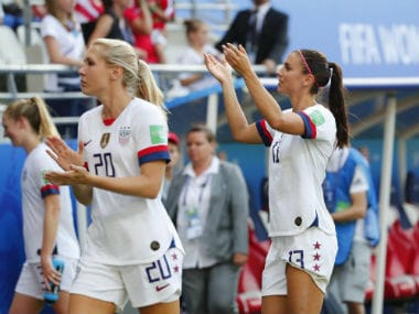 FIFA Womens World Cup 2019: USA beat Spain to set up blockbuster last-8 clash with hosts France; Sweden edge past Canada