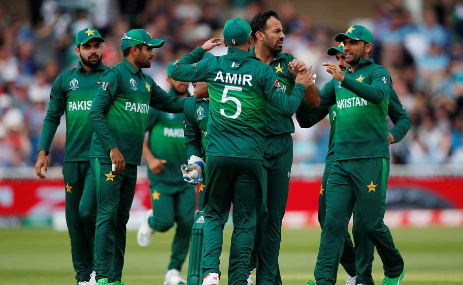 Wahab Riaz picked up three wickets, including the wicket of Jonny Bairstow as he finished with figures of 3/82.