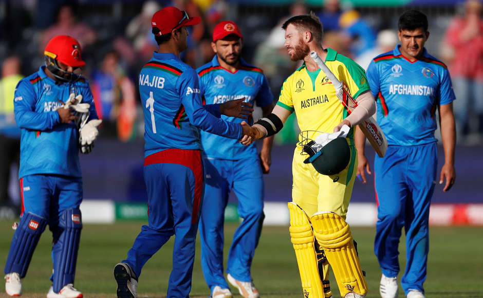 Despite boos from the crowd again, Australia's David Warner came back to form as his unbeaten knock of 89 runs guided the defending champions to a seven-wicket win over Afghanistan in Bristol during Saturday's second match. Reuters