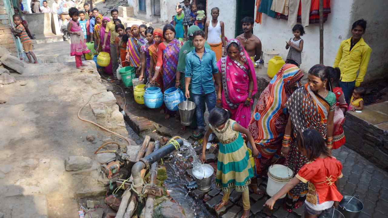 Acute water shortage are growing common in some of India's biggest cities. PTI