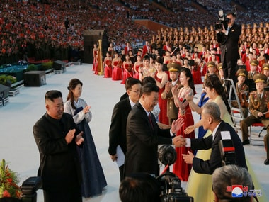 I love you China: North Korea woos Xi Jinping in lavish welcome, features special performance Mass Games by host Kim Jong-un