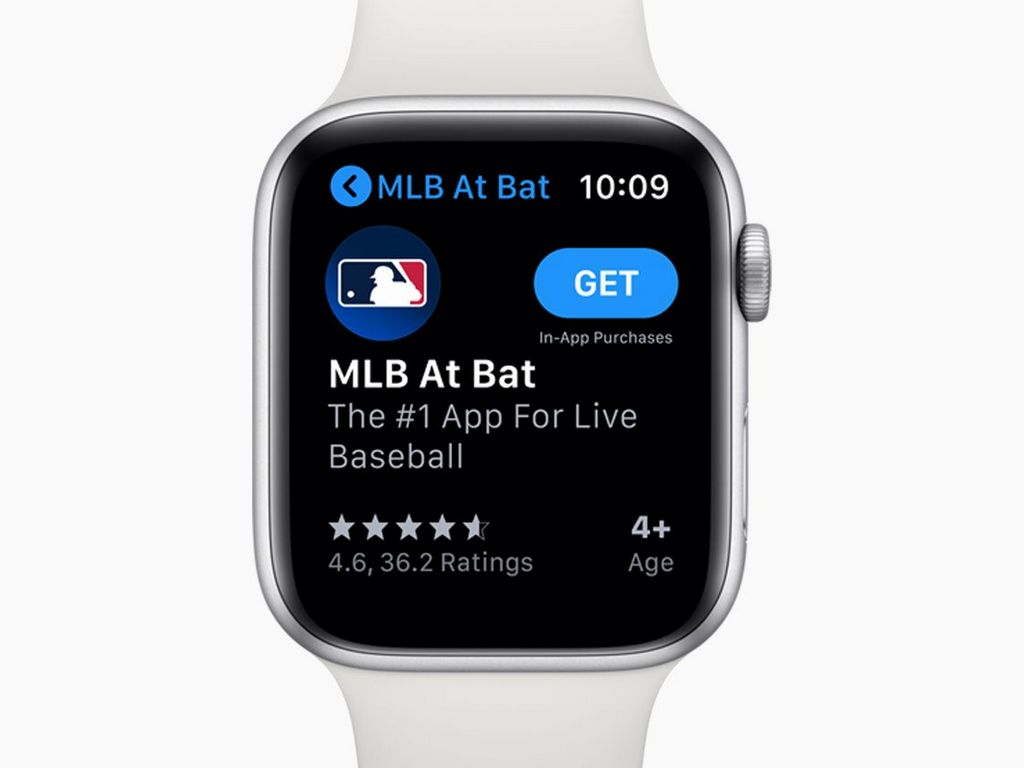 App Store on Apple watchOS 6. Image: Apple