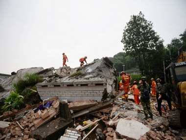 China earthquake: Toll in 6.0 magnitude quake increases to 12 as more than 4,000 people relocate due to collapsing structures