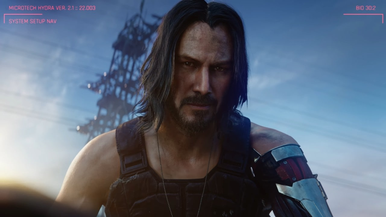 Cyberpunk 2077 will be released in April 2020, featuring Keanu Reeves