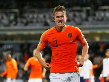 Serie A champions Juventus lead race to sign highly-rated Ajax defender Matthijs de Ligt, claim reports