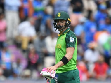 ICC Cricket World Cup 2019: South Africa captain Faf du Plessis pleased with point against West Indies, says washout is better than rain-shortened game