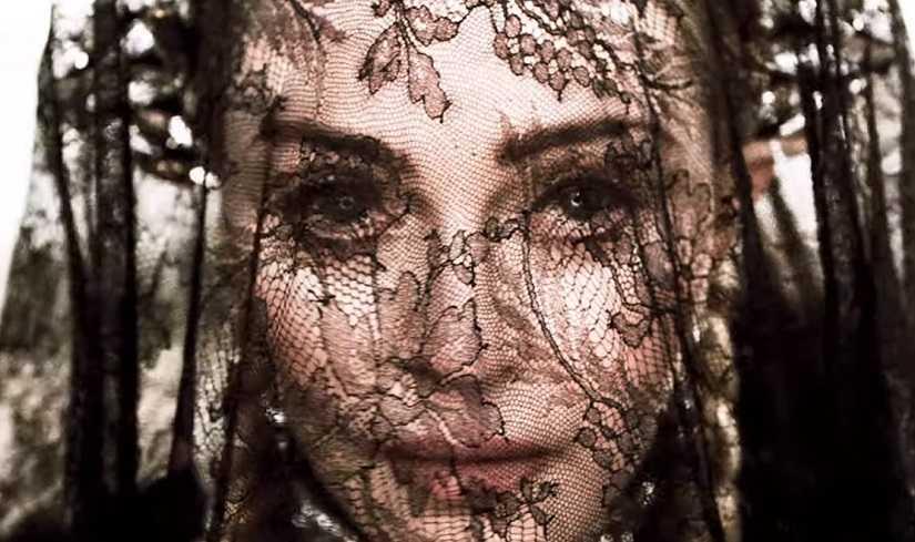 Madonna in a still from 'Dark Ballet'. YouTube