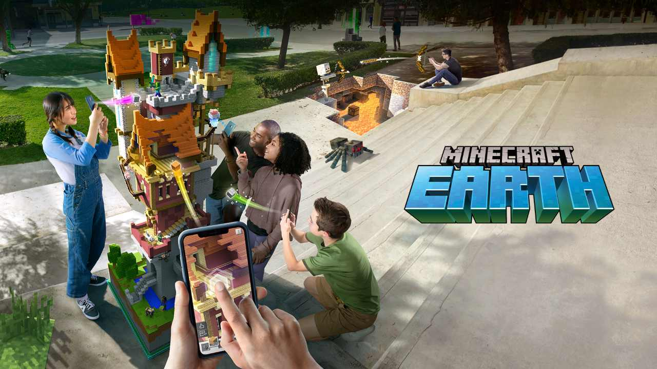 Minecraft Earth shows off gameplay footage, closed beta details