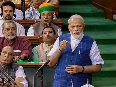Narendra Modi castigates Congress over Emergency and Shah Bano case in Lok Sabha, praises voters for electing stable govt