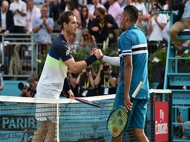 Queen's Club Championships 2019: Nick Kyrgios welcomes Andy Murray's return to tennis, says won't partner him in doubles