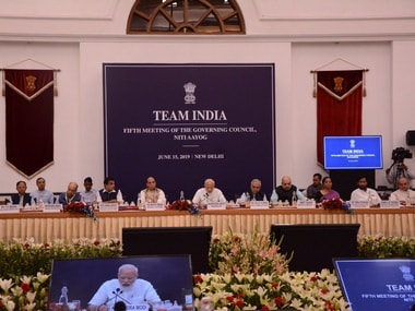 At NITI Aayog meeting, Narendra Modi says making India  trillion economy challenging but surely achievable