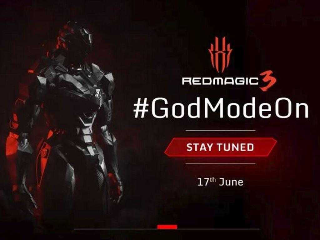 Điện thoại thông minh chơi game Nubia Red Magic 3 sẽ được ra mắt tại Ấn Độ vào ngày 17 tháng 6
