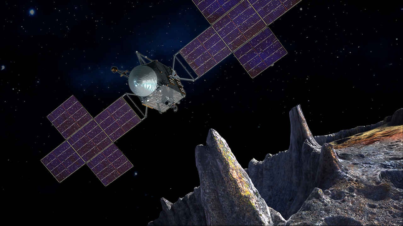 NASA preps for a new 2022 mission to the Golden asteroid - Psyche 16, near Mars