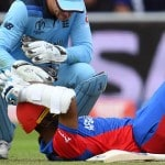 ICC Cricket World Cup 2019: Hashmatullah Shahidi batted on with broken helmet so as not to worry mother