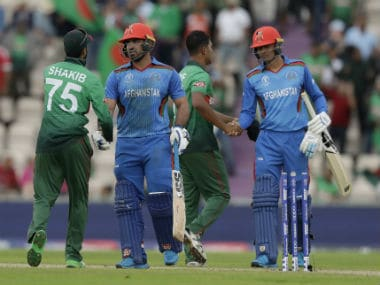 Bangladesh vs Afghanistan, ICC Cricket World Cup 2019 Stats Review: Shakib continues to soar as records tumble in Tigers win