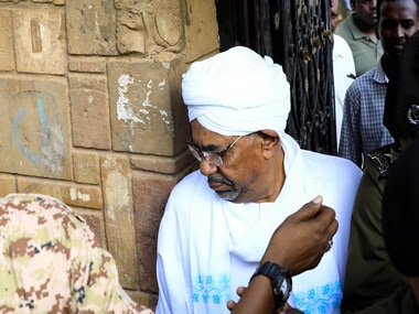 Sudan protests: Ousted president Omar-al Bashir makes first public appearance since April after being charged with corruption